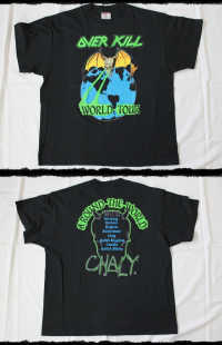 Overkill Shirt Arround The World Tour 1988