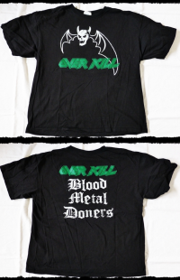 Overkill Shirt Blood Metal Donors-Bootleg
