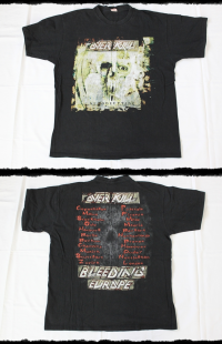 Overkill Shirt Bloodletting Tour 2000