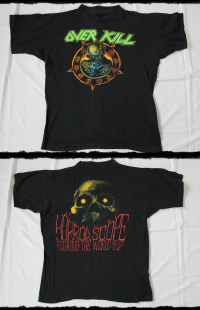 Overkill Shirt Horrorscope Tour 1991-92