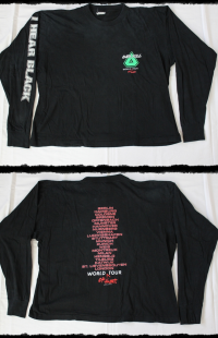 Overkill Shirt I Hear Black LS Tour 1993