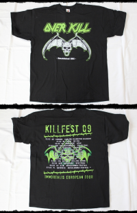 Overkill Shirt Immortalis Tour 2009
