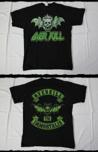 Overkill Shirt Immortalis  2009