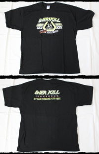 Overkill Shirt Ironbound Special Bundle Set 2010