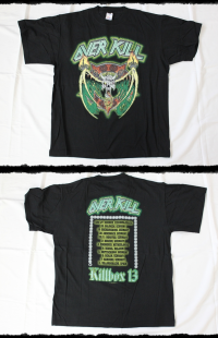 Overkill Shirt Killbox 13 Tour 2003
