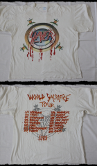 Slayer Shirt World Sacrifice Tour 1989