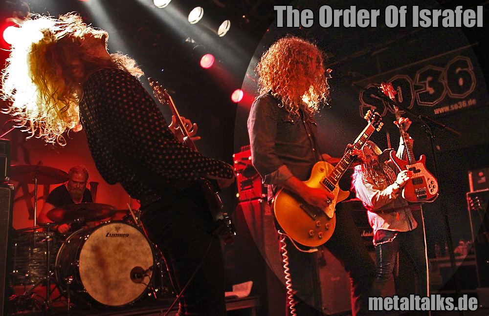 The Order Of Israfel - Mai 2015 Live im SO36 Berlin