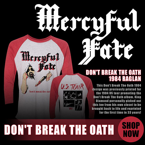 Mercyful Fate - Don't Break The Oath - Retro Shirt US-Tour 1984