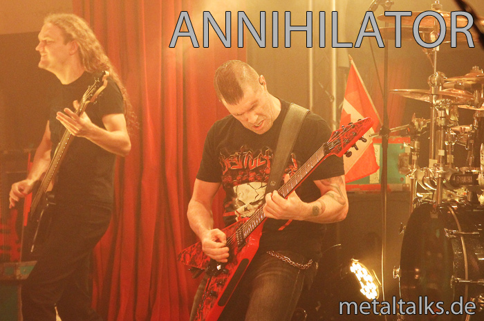 Annihilator at Lido Berlin 25.10.2015