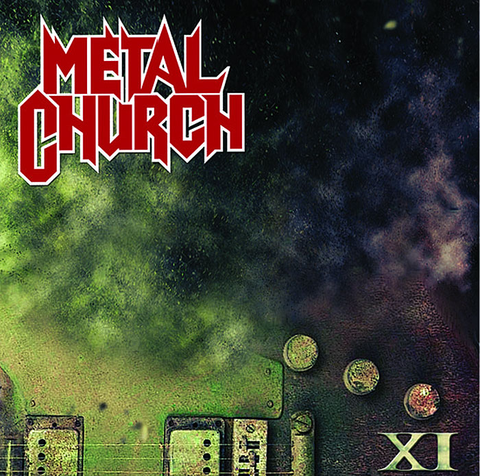 Cover und Tracklist - Metal Church - XI