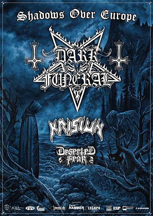 2016-10-12 Dark Funeral & Krisiun - Tour - Tickets - Termine