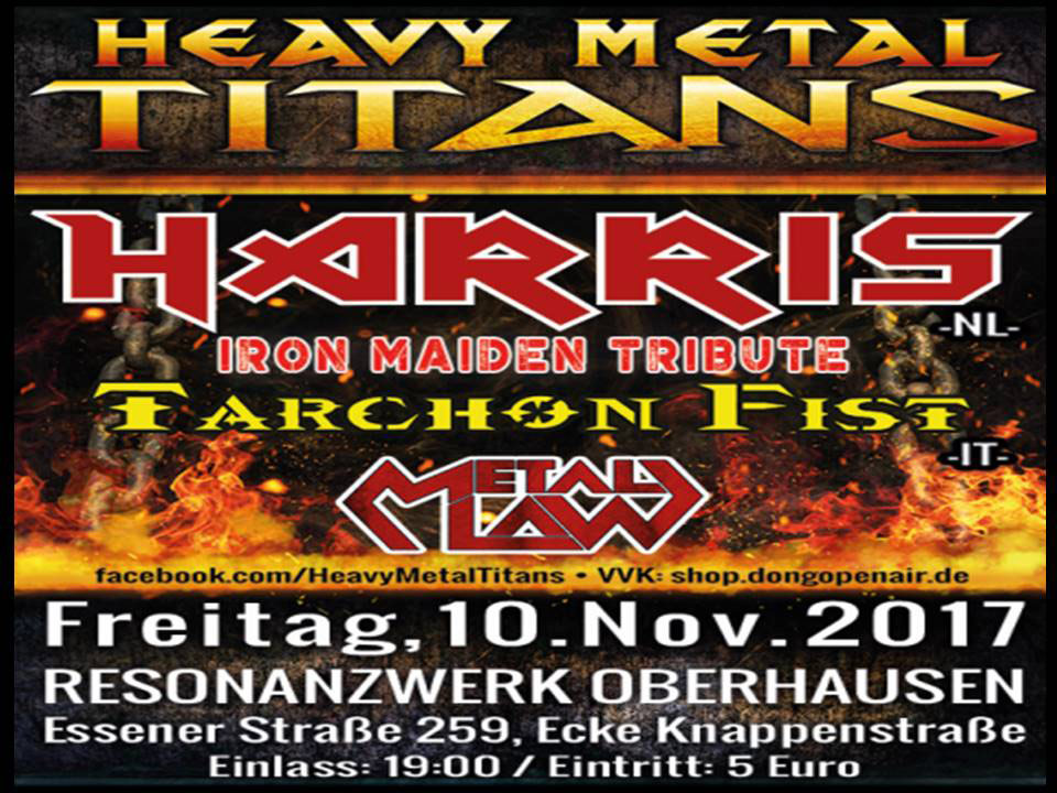 2017-11-10 - HEAVY METAL TITANS - HARRIS - Tarchon Fist - Metal Law
