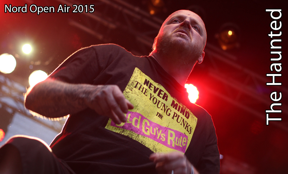 The Haunted auf dem Nord Open Air 2015 in Essen