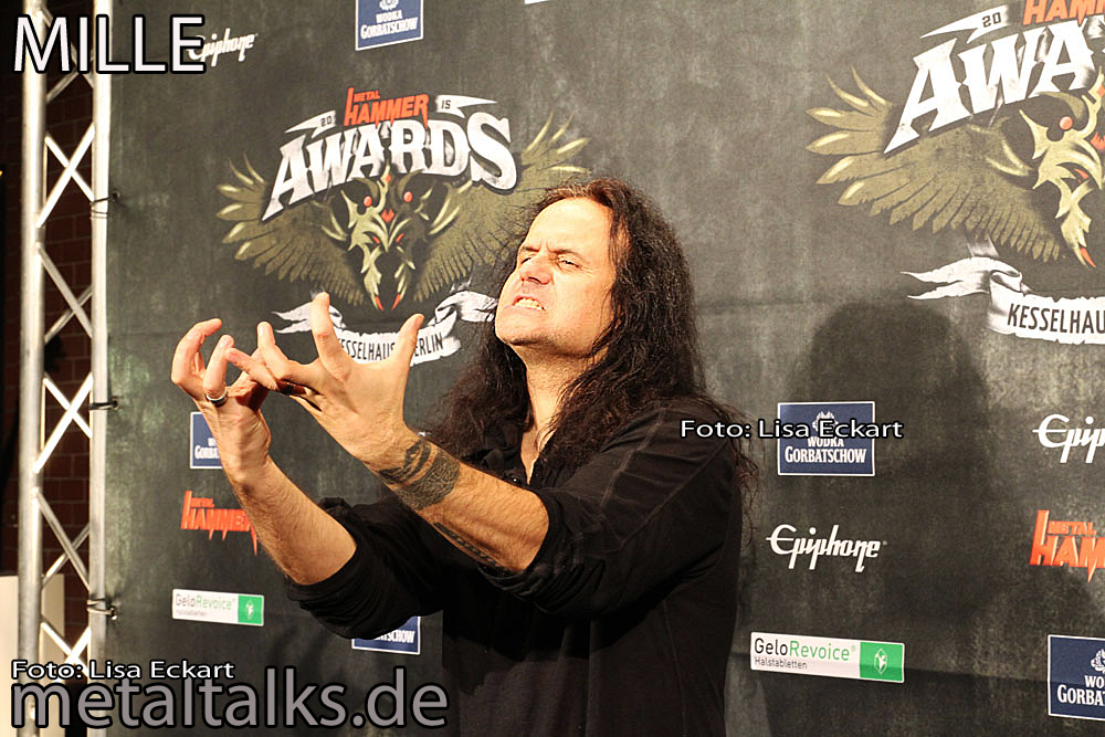 Mille - Kreator - Metal Hammer Awards 2015