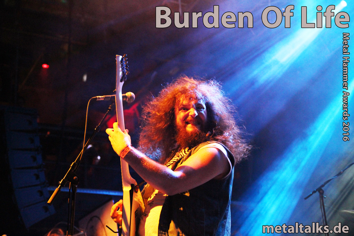 Burden Of Life - Metal Hammer Awards 2016